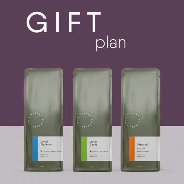 Velvet Sunrise Coffee Subscription Gift Package