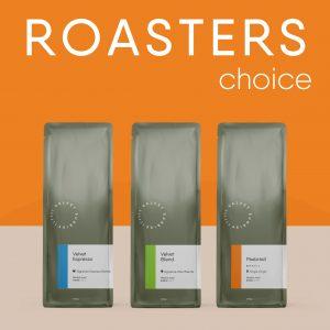 Velvet Sunrise Coffee Subscription Roasters Choice Package